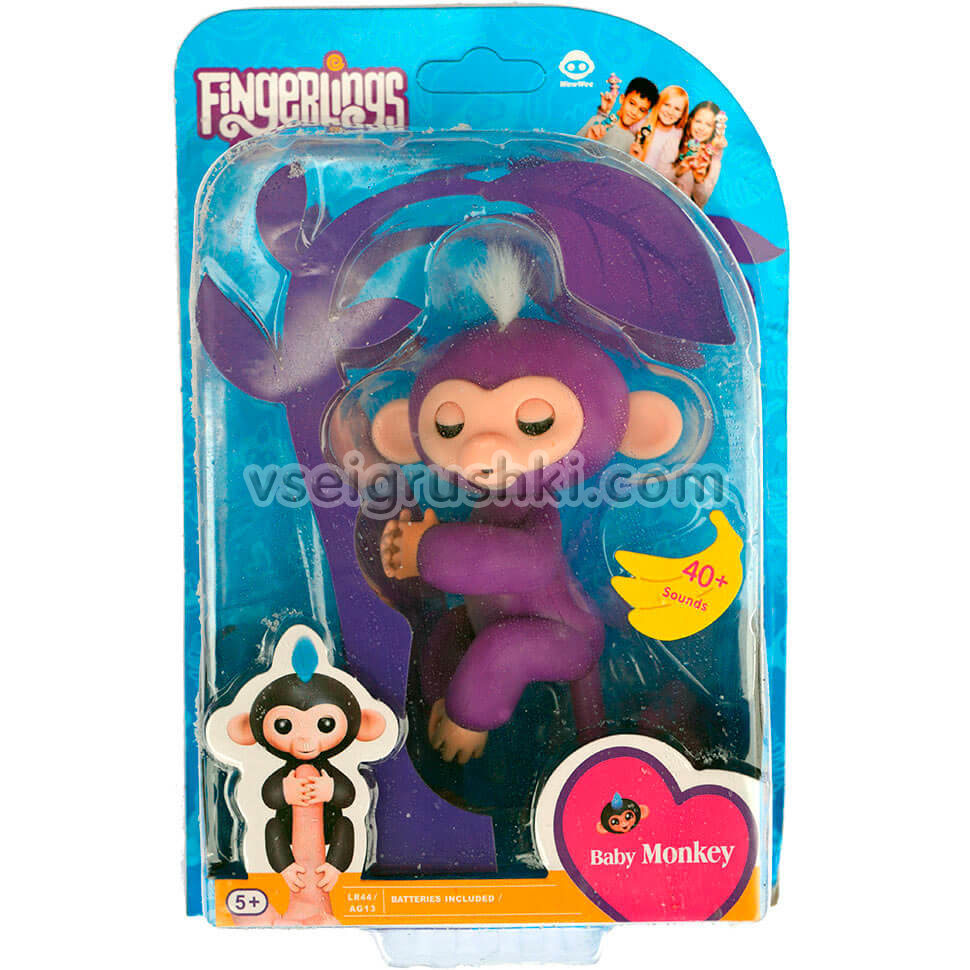 Обезьянка Fingerlings
