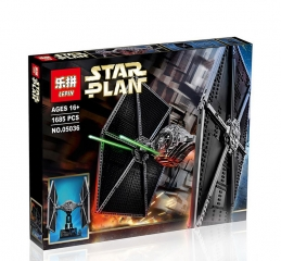 Конструктор Star Plan «Истребитель TIE Fighter»