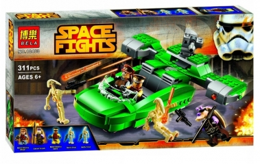 Конструктор Space Fights «Флеш-спидер»