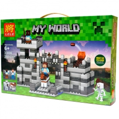 Конструктор Minecraft My World «Неприступная крепость»