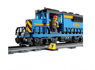 Конструктор Cities Lepin 02008 «Train Series: Грузовой поезд»