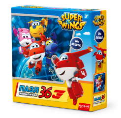 Пазл «SuperWings We deliver! 36 шт» Origami