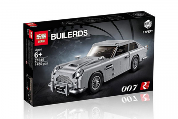 Конструктор Builerds «Автомобиль Aston Martin James Bond 007»