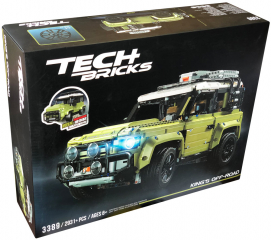 Конструктор Decool Tech Bricks «Land Rover Defender», 2931 деталь